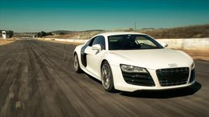 Audi R8 5.2 FSI quattro a prueba en pista