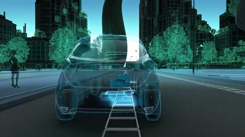 Renault trabaja en un sistema de carga en movimiento para sus autos eléctricos