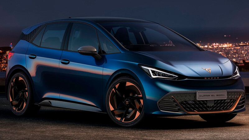 CUPRA el-Born 2021, se oficializa la versión deportiva del hatchback eléctrico