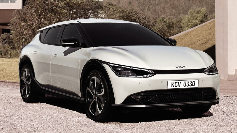 Kia EV6 revela cómo será el diseño de los futuros modelos de la marca coreana