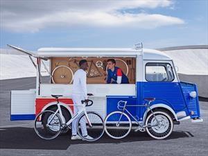 Citroen y Le Coq Sportif celebran los 70 años del furgón Type H con inédita versión restaurada
