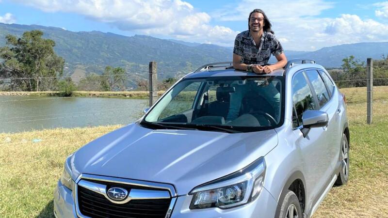 Christian Byfield, nuevo embajador de Subaru en Colombia