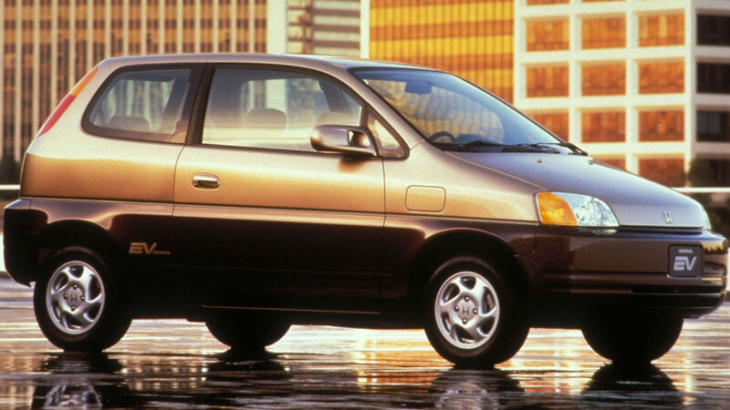 Honda EV Plus, el primer eléctrico de la marca japonesa