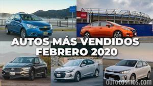 Los 10 autos más vendidos en febrero 2020