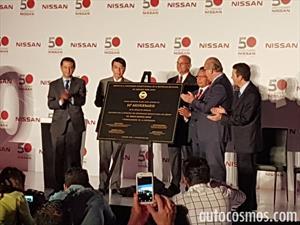 La primera planta de Nissan fuera de Japón cumple 50 años