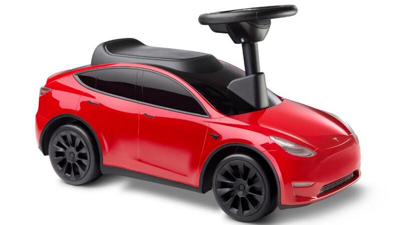 Este es el Tesla Model Y para niños