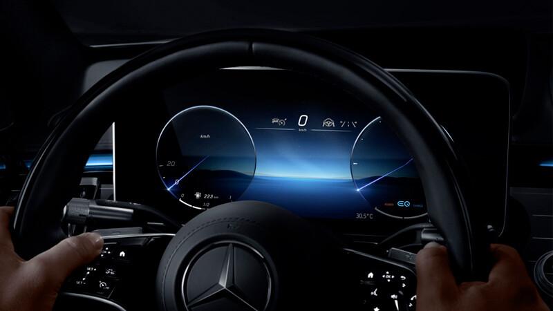 Mercedes-Benz Clase S 2021, anticipa la interfaz MBUX de segunda generación