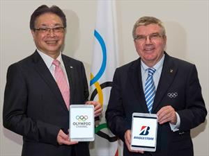 Bridgestone, primer socio fundador del canal olímpico