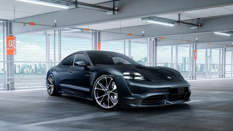 Porsche Taycan por TechArt, un look más deportivo para primer eléctrico de Stuttgart