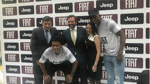 Cuadrado y Mina, la nueva delantera de Jeep y Fiat
