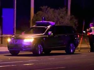 Un vehículo autónomo de Uber atropelló y mató a una mujer en EE.UU.