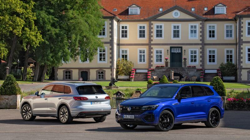 Volkswagen Touareg suma versiones híbridas PHEV