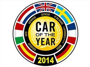 Estos son los finalistas para el Auto del Año 2014 en Europa