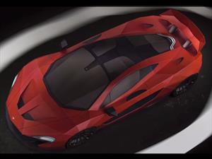 Construye tu propio McLaren P1 de papel