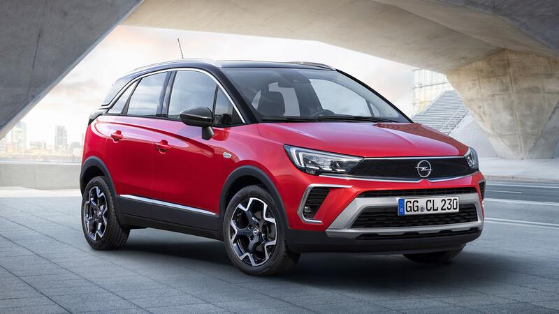Opel le cambia el rostro al Crossland para el 2021
