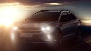 Volkswagen muestra la primera imagen de la Nivus 2021, la SUV coupé derivada del Polo