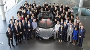 McLaren Automotive celebra 20,000 carros producidos