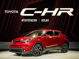 Toyota C-HR 2018, el nuevo SUV compacto