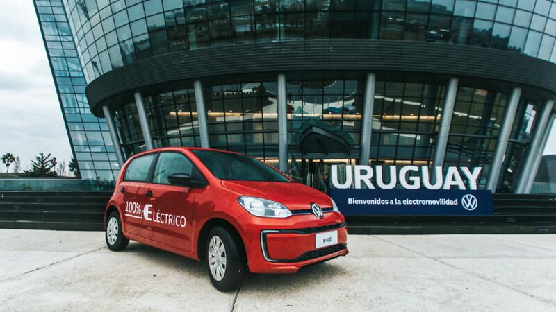 Uruguay ya tiene al Volkswagen e-up! ¿y Argentina?