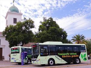 Sigue creciendo la flota de buses eléctricos en Santiago