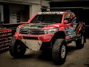 Toyota Hilux Evo, el arma nipona para el Dakar 2017