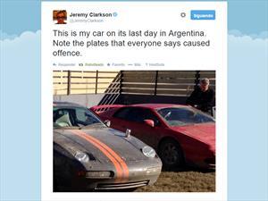 Clarkson hace su descargo por Twitter