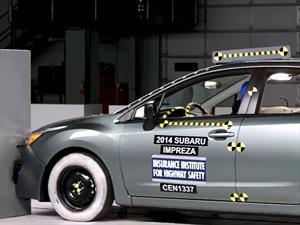 Subaru Impreza y XV Crosstrek 2014 ganan el Top Safety Pick + del IIHS