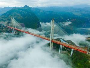 Beipanjiang, el puente más alto del mundo