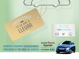 Hyundai  quiere que pruebes el i10