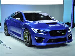Subaru se roba las miradas con el WRX Concept