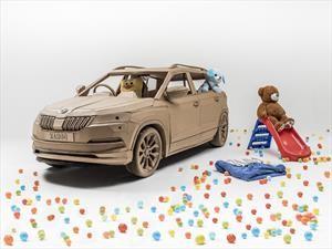 Skoda crea un Karoq de cartón, ideal para niños