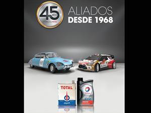 Total y Citroën celebran 45 años
