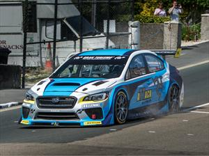 Subaru WRX STI rompe récord en Isle Of Man