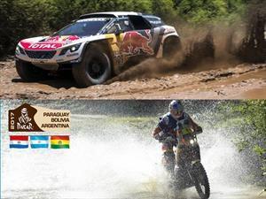 Etapa 2 del Rally Dakar 2017