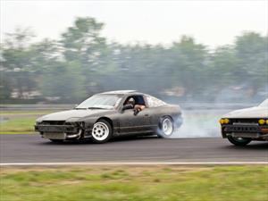 Drifting en cámara lenta