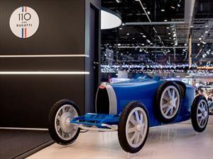 Bugatti Baby II, el juguete al que te querés subir
