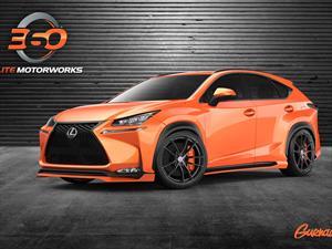 Lexus NX 200t F Sport 2015 por 360 Elite Motorworks