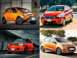 Los 10 autos más baratos en México para 2019