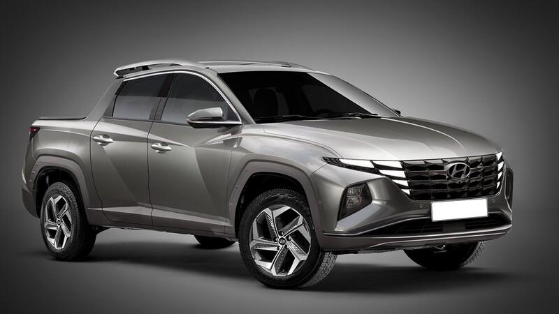 En 2021 llegará la Hyundai Santa Cruz, futura rival de Frontier, Hilux y muchas más