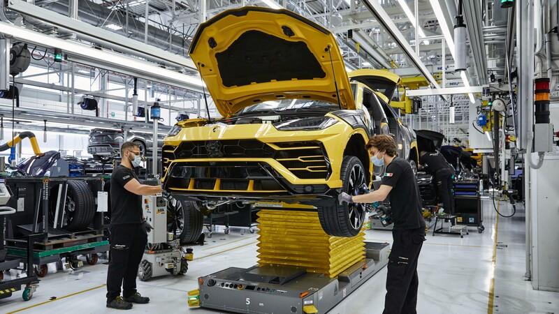 Lamborghini registra 15,000 unidades producidas del Urus en solo tres años