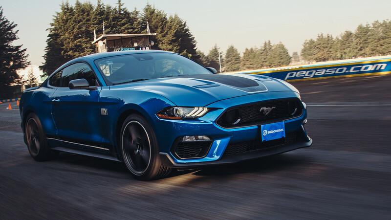 Ford Mustang Mach 1 2021 a prueba, una clase de historia de 480 hp de poder