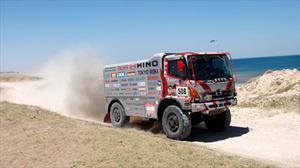 HINO conquistó primer lugar en el Dakar 2012