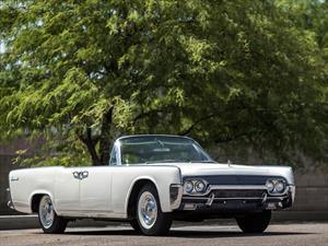 A subasta el Lincoln Continental de Jackie Kennedy