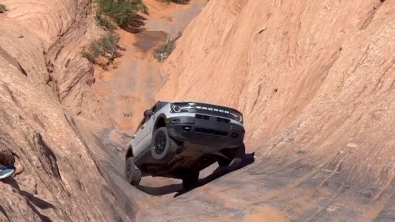 Video: ¿Quién dijo que la Ford Bronco Sport no es para off-road extremo?