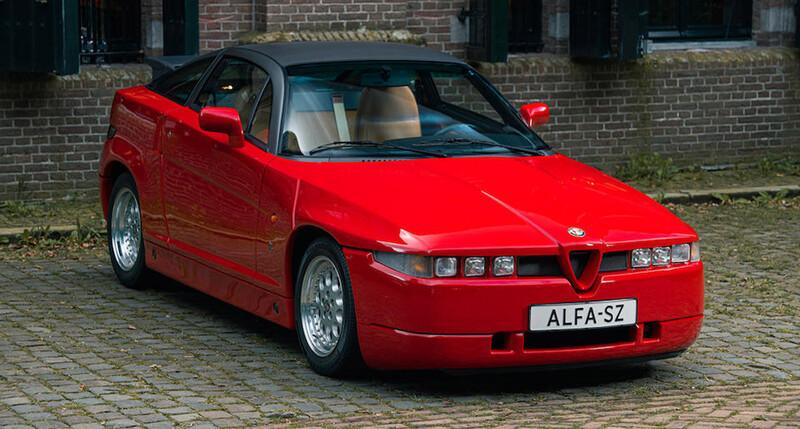 Alfa Romeo SZ de 1991, a subasta esta Rara Alfis