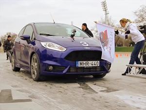 Video: Ken Block se porta mal con un Ford Fiesta ST en Budapest
