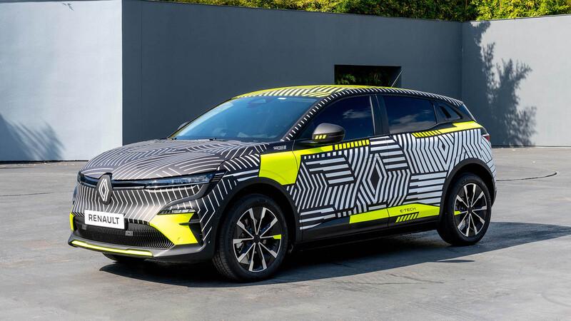 Renault Megane eléctrico saldrá con camuflaje para terminar sus pruebas