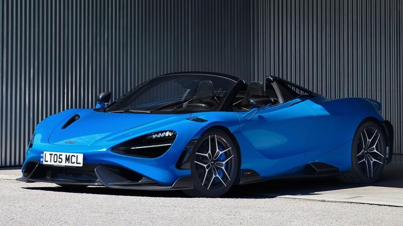 McLaren 765LT Spider, superauto con 755 caballos de potencia
