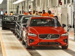 Volvo lanza el S60 2019 y abre su nueva planta en Estados Unidos