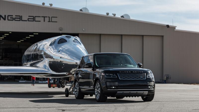 Land Rover participa en el inicio de la era de los viajes espaciales comerciales